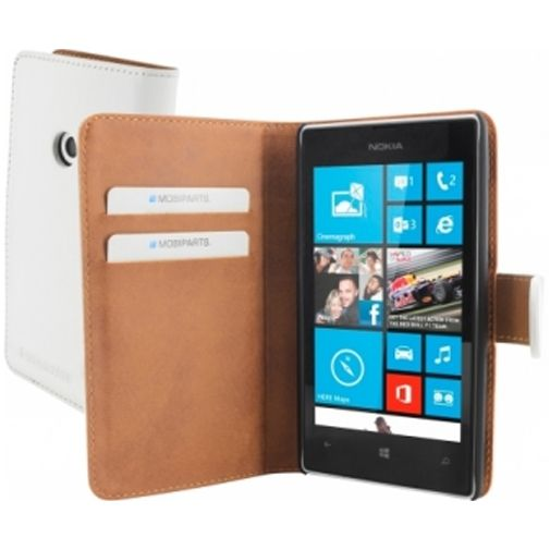 Mobiparts Premium Wallet Case Nokia Lumia 520 / 525 White