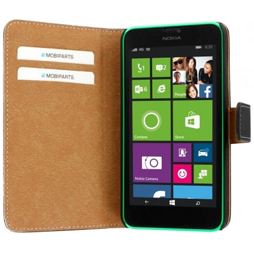 Mobiparts Premium Wallet Case Nokia Lumia 630 / 635 Black
