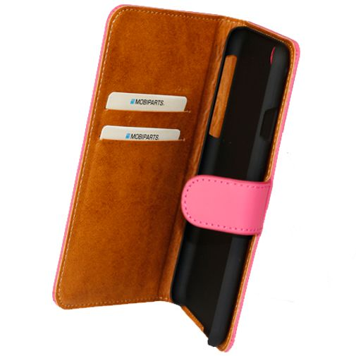 Mobiparts Premium Wallet Case Pink Apple iPhone 6/6S