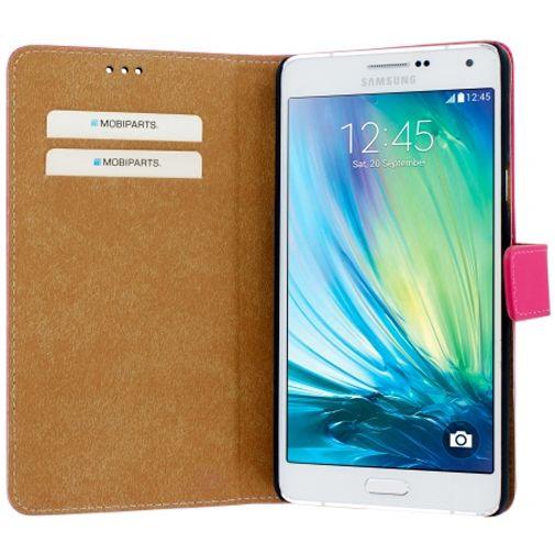 Mobiparts Premium Wallet Case Pink Samsung Galaxy A7