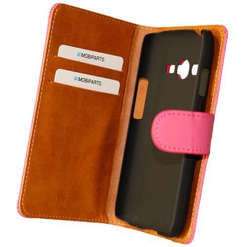 Productafbeelding van de Mobiparts Premium Wallet Case Pink Samsung Galaxy Trend 2