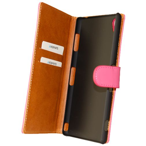 Mobiparts Premium Wallet Case Pink Sony Xperia Z3