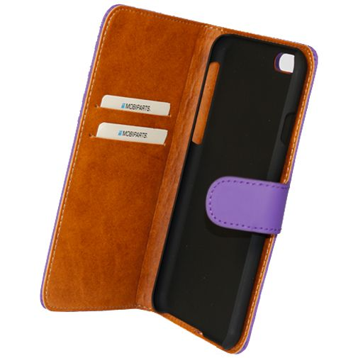 Mobiparts Premium Wallet Case Purple Apple iPhone 6/6S