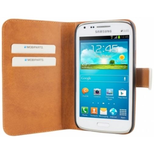 Mobiparts Premium Wallet Case Samsung Galaxy Core White