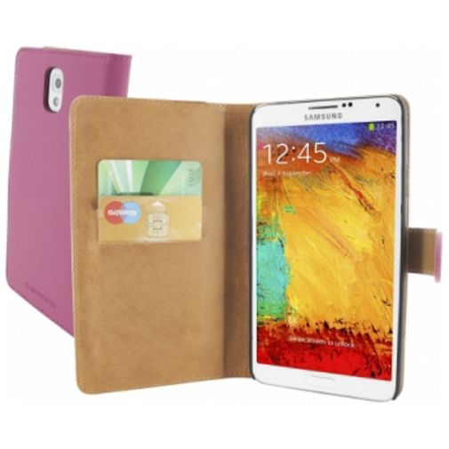 Mobiparts Premium Wallet Case Samsung Galaxy Note 3 Pink