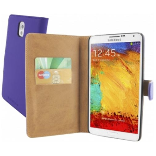 Mobiparts Premium Wallet Case Samsung Galaxy Note 3 Purple