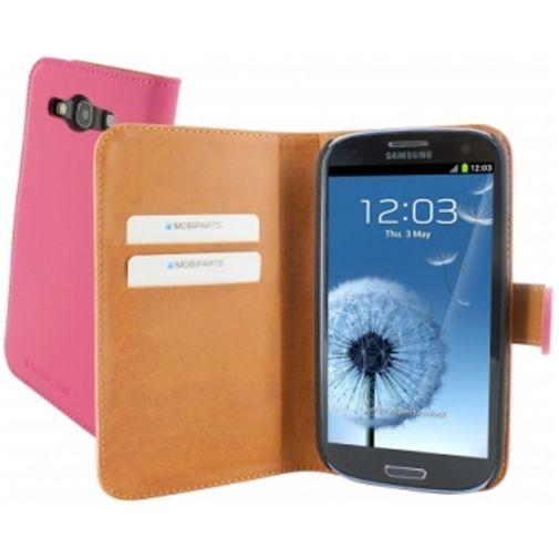 Mobiparts Premium Wallet Case Samsung Galaxy S3 (Neo) Pink