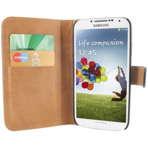 Mobiparts Premium Wallet Case Samsung Galaxy S4 Black