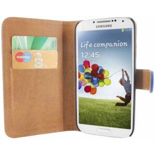 Mobiparts Premium Wallet Case Samsung Galaxy S4 Blue