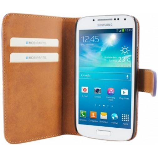 Productafbeelding van de Mobiparts Premium Wallet Case Samsung Galaxy S4 Mini Purple