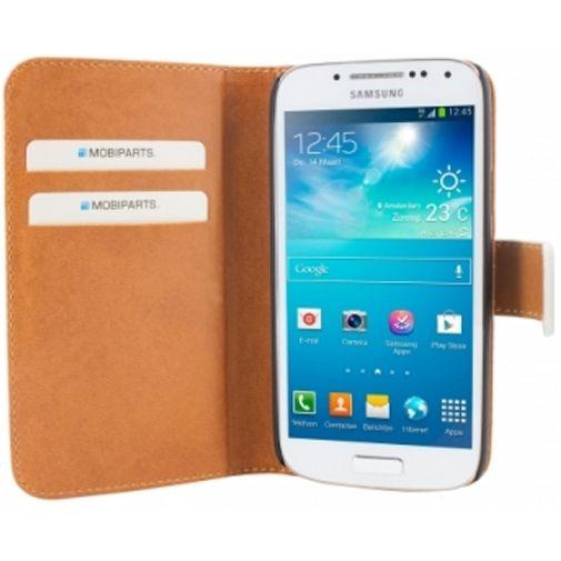 Mobiparts Premium Wallet Case Samsung Galaxy S4 Mini White