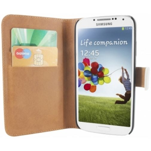 Mobiparts Premium Wallet Case Samsung Galaxy S4 White