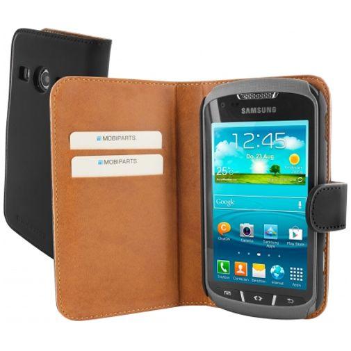 Productafbeelding van de Mobiparts Premium Wallet Case Samsung Galaxy Xcover 2 Black