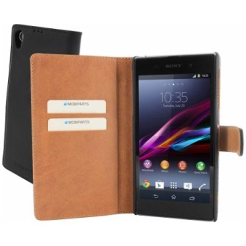 Mobiparts Premium Wallet Case Sony Xperia Z1 Black