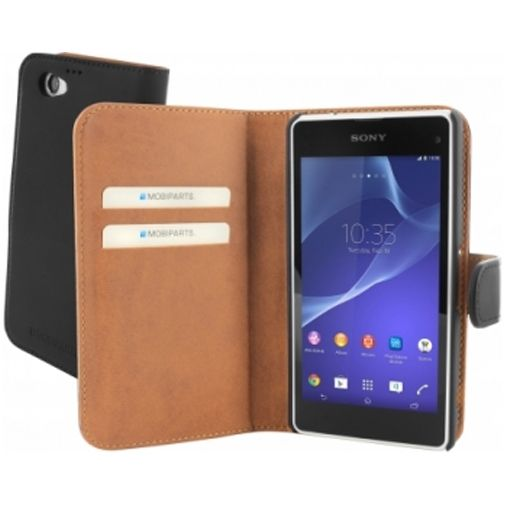Mobiparts Premium Wallet Case Sony Xperia Z1 Compact Black