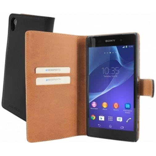 Mobiparts Premium Wallet Case Sony Xperia Z2 Black