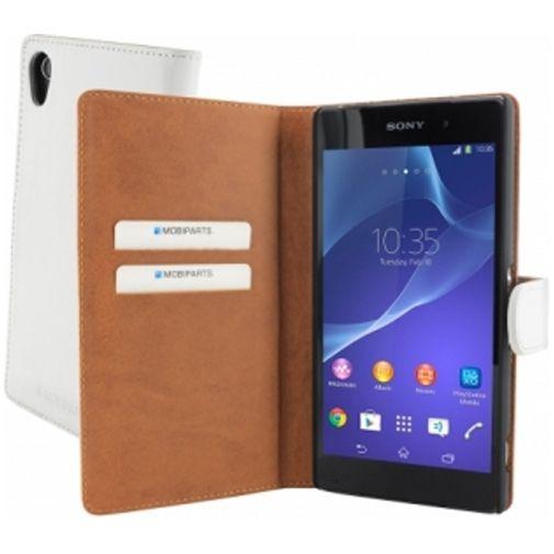 Mobiparts Premium Wallet Case Sony Xperia Z2 White