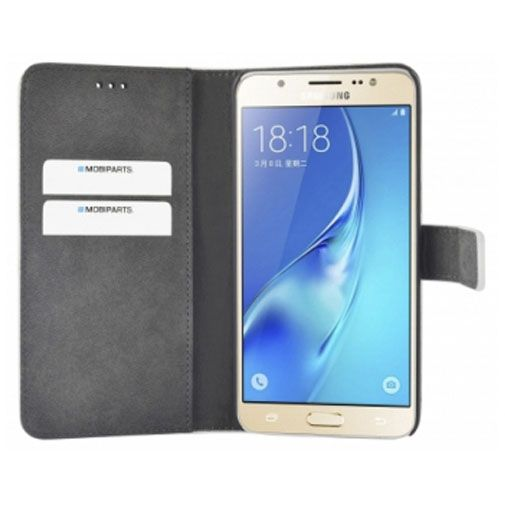 Mobiparts Premium Wallet Case White Samsung Galaxy J5 (2016)