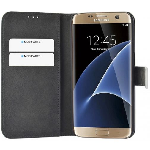 Mobiparts Premium Wallet Case White Samsung Galaxy S7