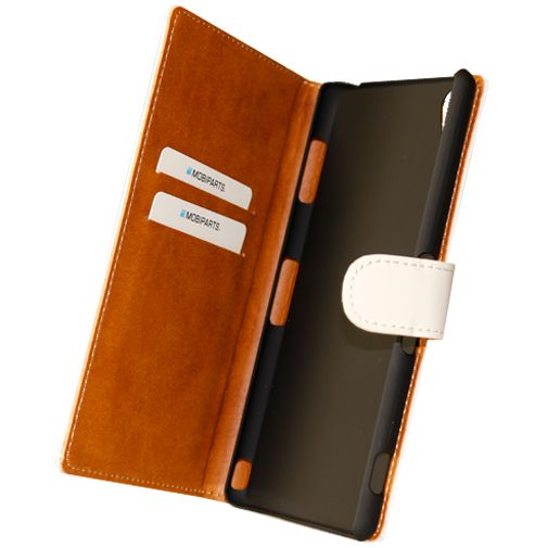 Mobiparts Premium Wallet Case White Sony Xperia Z3
