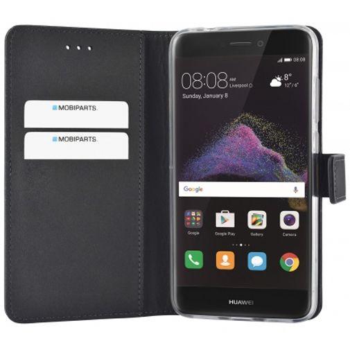 Mobiparts Premium Wallet TPU Case Black Huawei P8 Lite 2017