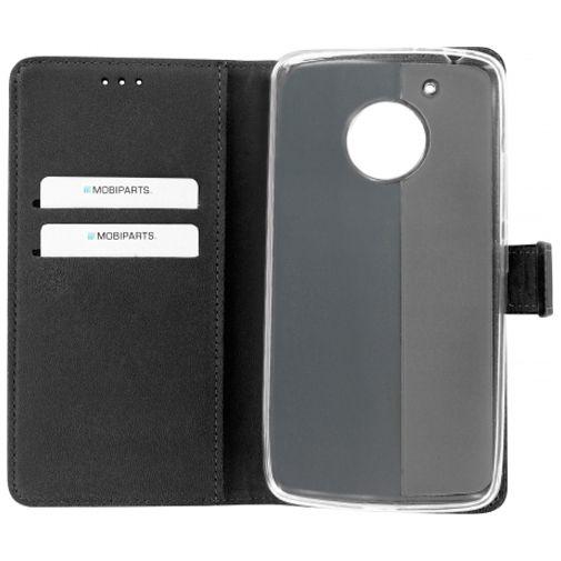 Mobiparts Premium Wallet TPU Case Black Motorola Moto G5