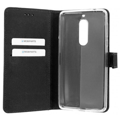 Mobiparts Premium Wallet TPU Case Black Nokia 5