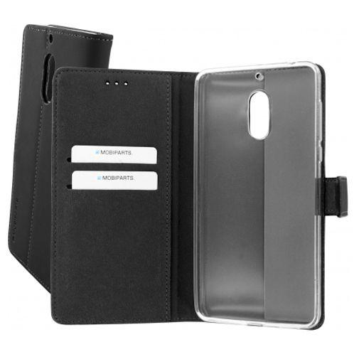 Mobiparts Premium Wallet TPU Case Black Nokia 6