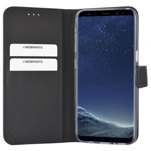 Mobiparts Premium Wallet TPU Case Black Samsung Galaxy S8