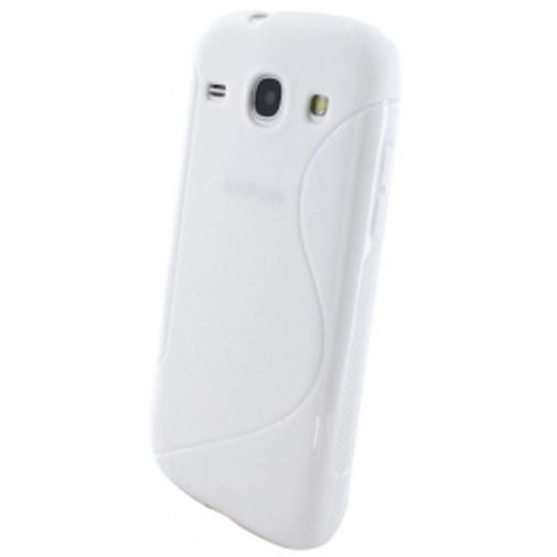 Mobiparts S-Shape TPU Case Samsung Galaxy Core White