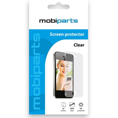 Mobiparts Screenprotector Samsung Galaxy Note 2-Pack