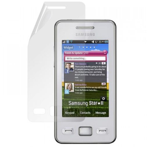 Mobiparts Screenprotector Samsung S5260 Star II 2-Pack