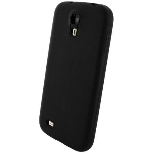 Mobiparts Siliconen Case Samsung Galaxy S4 Black