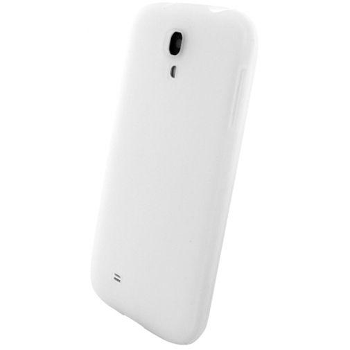 Mobiparts Siliconen Case Samsung Galaxy S4 White