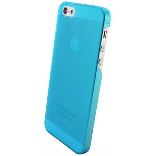 Mobiparts Slim Case Apple iPhone 5/5S Frosted Blue