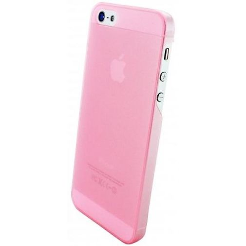 Mobiparts Slim Case Apple iPhone 5/5S Frosted Pink
