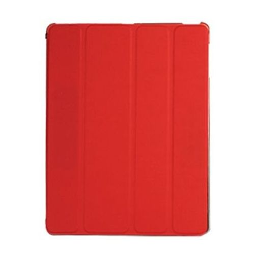 Productafbeelding van de Mobiparts Smart Cover Crystal Red Apple iPad 2/3