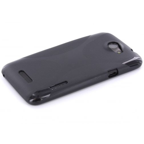 Mobiparts TPU Case HTC One X Black
