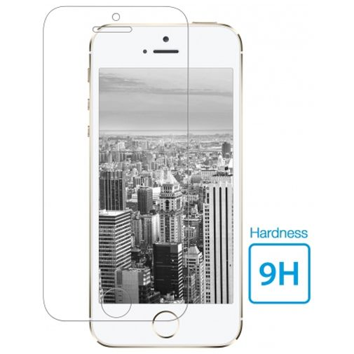 Mobiparts Tempered Glass Screenprotector Apple iPhone 5/5S/5C/SE