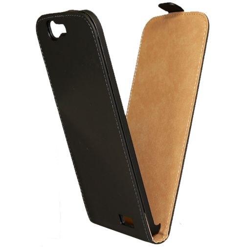 Mobilize Ultra Slim Flip Case Black Huawei Ascend G7