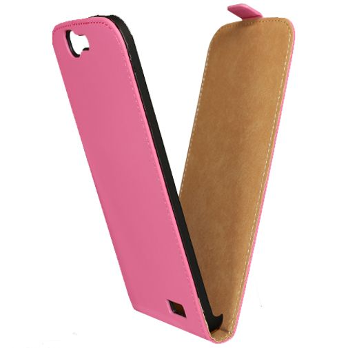Mobilize Ultra Slim Flip Case Fuchsia Huawei Ascend G7