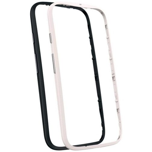 Motorola Bumper 2-Pack Black & White New Moto E