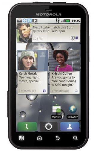 Motorola Defy White Black