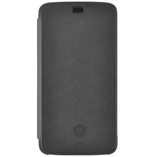 Motorola Flip Cover Black Moto C Plus