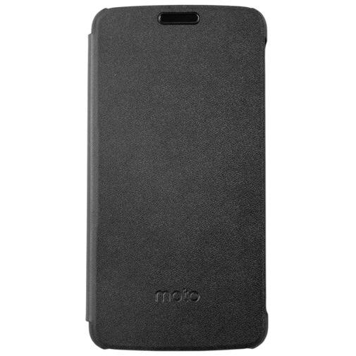 Motorola Flip Cover Black Moto E4