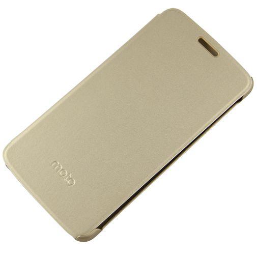 Motorola Flip Cover Gold Moto E4