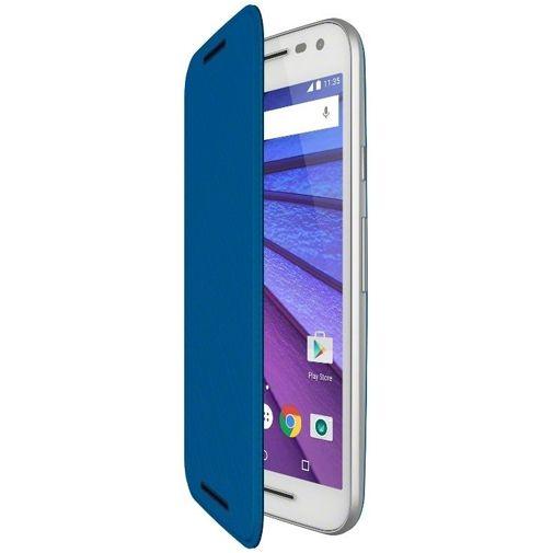 Motorola Flip Shell Blue Moto G (3rd Gen)