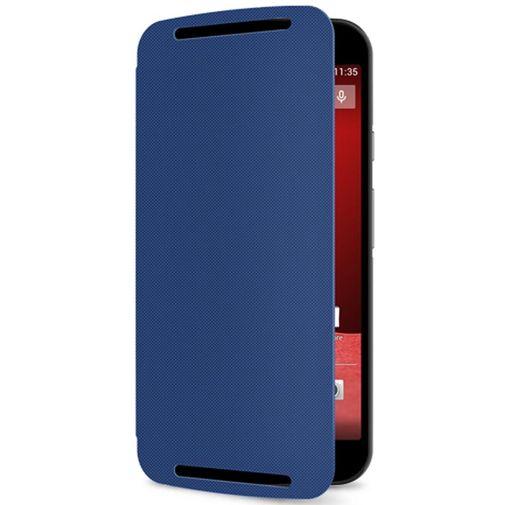 Productafbeelding van de Motorola Flip Shell Blue New Moto G