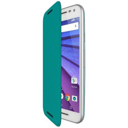 Motorola Flip Shell Turquoise Moto G (3rd Gen)