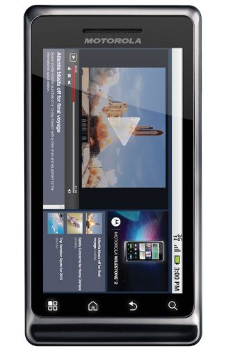Productafbeelding van de Motorola Milestone 2